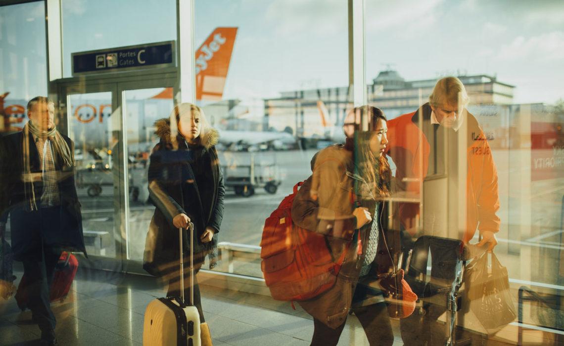 Au Pair прилет Аэропорт